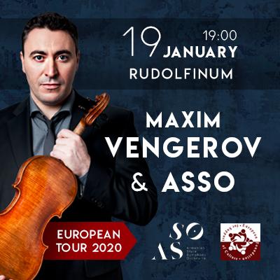 Maxim Vengerov. Rudolfinum vstupenky